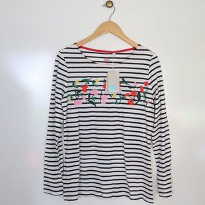 Boden Breton with Embroidered Flowers 10